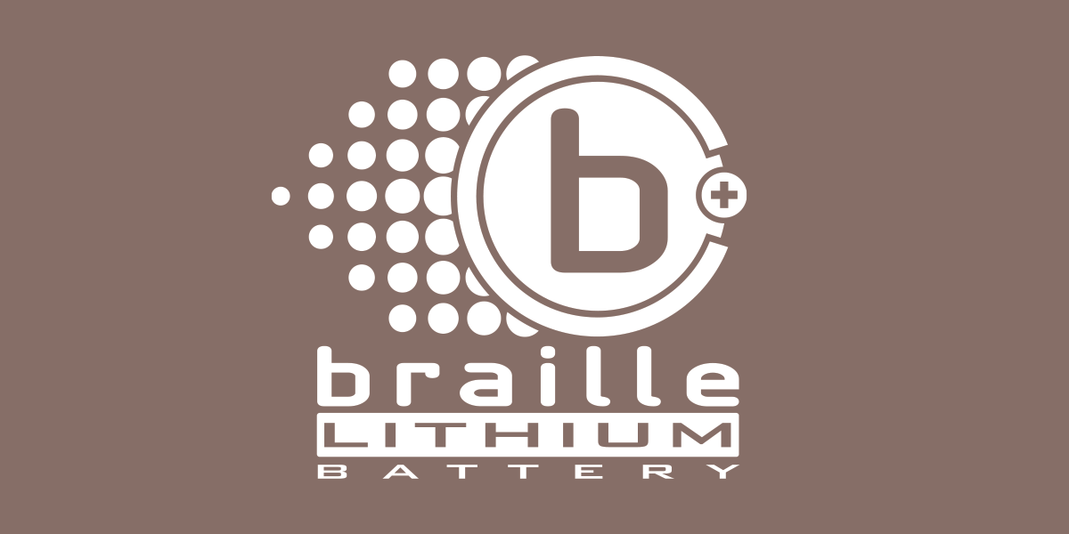 Braille Lithium Battery